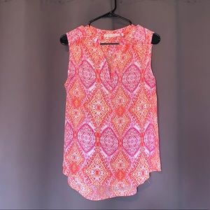 Violet + Claire Sleeveless Blouse- medium